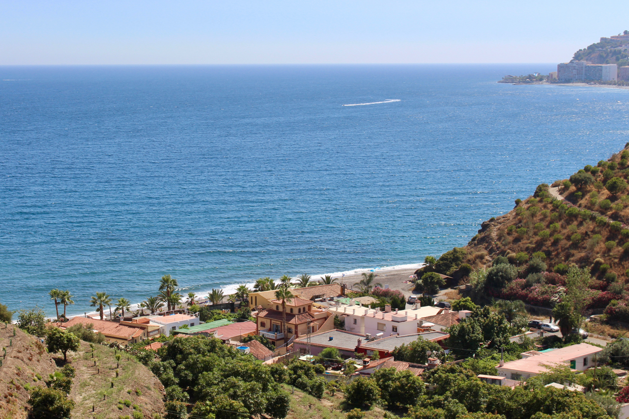 Strand Playa Cabria an der Costa Tropical