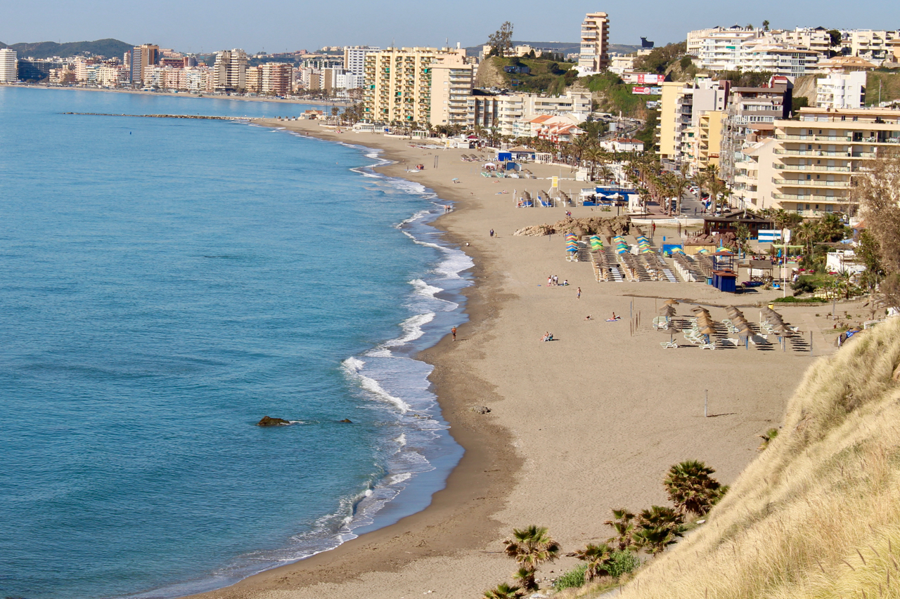 Der Playa Carvajal in Benalmádena