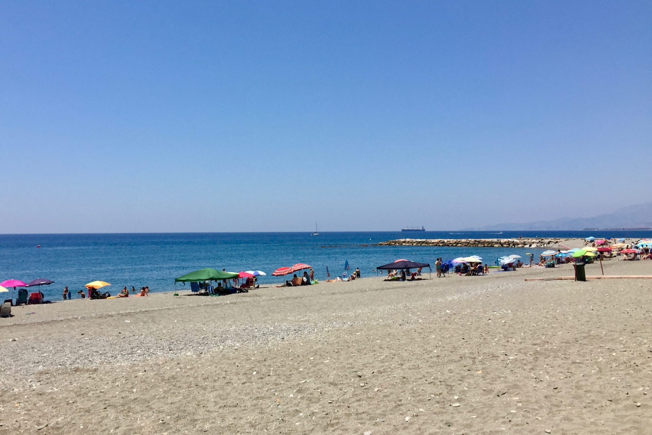 Playa Torrenueva in Motril